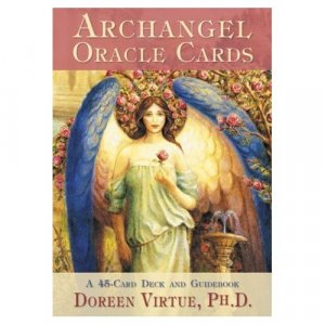 Archangel Oracle Cards: 45 cards and guidebook by Doreen Virtue
