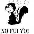 NO FUI YO! tee