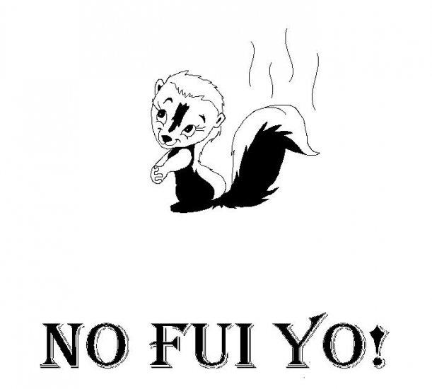 NO FUI YO tee