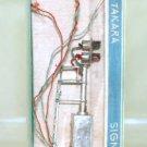 Takara  Vintage Brass  2-Light Target Signal  Silvered  W/Original Box|BrassTrainsAndMore