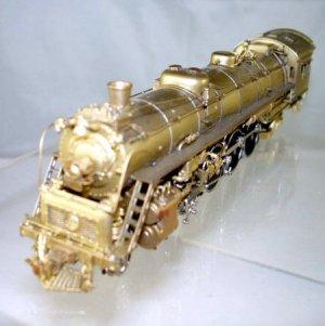 Westside Models Brass HO Scale  B&O  4-8-2 Type T-3a  Mountain Steam Locomotive|BrassTrainsAndMore