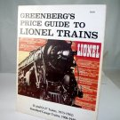 Greenberg's  Price Guide To Lionel Trains 0 And 027 Trains 1915-1942 2nd Edition|BrassTrainsAndMore