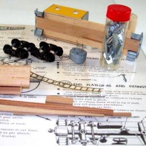 Silver Streak  HO Scale  Modified Caboose Kit  With Box|BrassTrainsAndMore