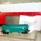 Atlas  HO Scale  PC  34FT. 2-Bay Open-Top Offset Side Hopper with Flat Ends#PC498017