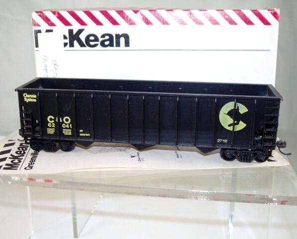 McKean  HO Scale  C&O  45FT.  Open-Top Hopper#C&O62041