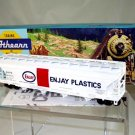 Athearn  HO Scale  Enjay Plastics  55FT.  ACF  Central-Flow Covered Hopper#SHPX52795