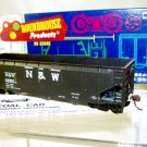 Roundhouse  HO Scale  N&W  40FT. Open-Top Offset-Side 3-Bay Hopper#N&W22901