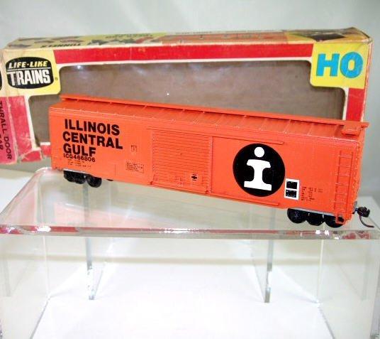 Life Like  HO Scale  ICG  51FT. Thrall-Door Box Car#ICG466806