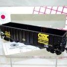 Stewart Hobbies HO Scale  CSX  40FT. Open-Top 14-Panel 3-Bay 70-Ton Hopper#C&O399000