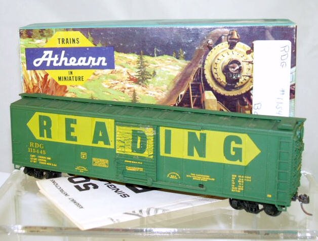 Athearn  HO Scale  Reading  50FT. Single-Door Steel Box Car#RDG115445