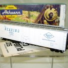 Athearn  Bev Bel HO Scale  Reading Lines  50FT. Plug-Door Mechanical Reefer#RDG17095