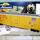 Athearn  HO Scale  Union Pacific  50 Ft. Ribbed-Side Plug-Door Box Car#UP461153