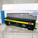 Bachmann Silver Series  HO Scale  Burlington Route  50Ft. Plug-Door Box Car#RBCS2522