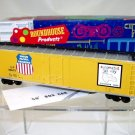 "Roundhouse  HO Scale  Union Pacific  50Ft. Plug-Door ""Automated"" Box Car#UP518603"