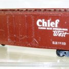 AHM  HO Scale  Santa Fe  40Ft. Plug-Door Reefer#ATSF139759