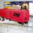 Athearn Bev-Bel  HO Scale  Toledo Peoria&Western  50Ft. Rail Box Car#TPW70157