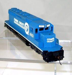 """G.S.B. Rail Ltd. HO Scale  Conrail  EMD SD40-2 """"Bulldog"""" Diesel#6503 Powered"""