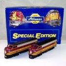 Athearn HO Scale  Boston&Maine  Special Edition  F7A  AA Diesel Set NIB