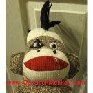 "Punk Rock  Sock Monkey Big 18"" One of a Kind"