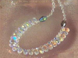 C O L E T T E  - - Swarovski Austrian Crystal Briolette Choker