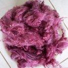 violet mohair locks handspinning felting crafting fiber