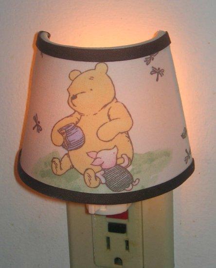 Night light M/W classic winnie the pooh