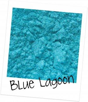 Mineral Makeup Eye Shadow Sample  Blue Lagoon