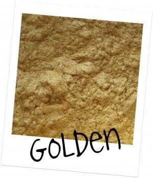 Mineral Makeup Eye Shadow Golden 5 Gram Jar