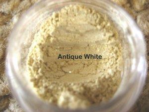 Mineral Makeup Eye Shadow Antique White 5 Gram Jar