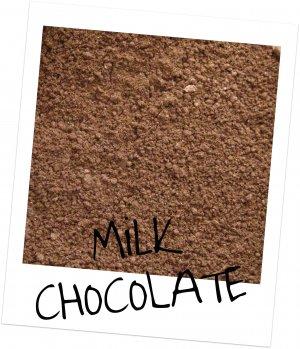 Mineral Makeup Eye Shadow Milk Chocolate 5 Gram Jar
