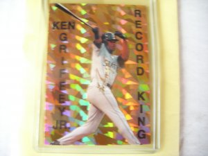 "1994-95 ""KEN GRIFFEY JR."" Record King Rare card #176, 1 of 10,000 Mint"