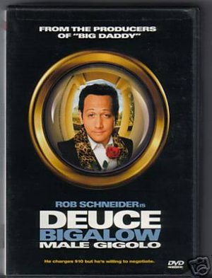 "New ""DEUCE BIGALOW"" Male Gigolo Sealed Dvd"