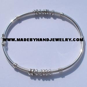 .950 Oval Silver Bracelet *EMAIL SIZE FOR AVAILABILITY AND PRICE*