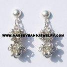 .950 Pure Silver Earrings (No. 5)