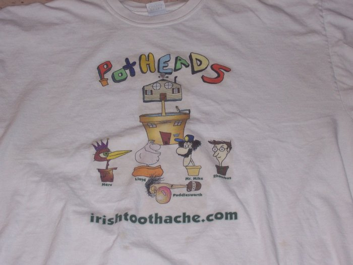 Pot Heads Cartoon T-Shirt