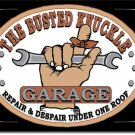 "Busted Knuckle Garage  16""Wx12.5""H TIN SIGN ""FREE SHIPPING"""