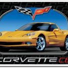 "Corvette C6 16""W x 12.5""H TIN SIGN FREE SHIPPING"
