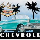 "CHEVY BEL AIR 1957 Convertable TIN SIGN  ""FREE SHIPPING"""