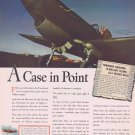 1942 WW2 Tomahawk Plane with Allison Engine Vintage Ad 18-1 Victory Ratio by Australian Squadron