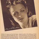 Young and Sultry Anne Sheridan 1942 Sepia Movie Picture with Autograph Copy  in a Classic Pose