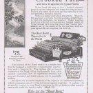 1912 Royal Typewriter Original Vintage Advertisement Best Built Typewriter in the World