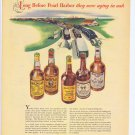 1943 Long Before Pearl Harbor WW2 Old Whiskeys Vintage Advertisement