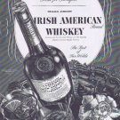 1937 William Jameson Irish American Whiskey Original Vintage Advertisement