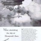 1957 Honeywell Aeronautics Sky Shrinkers Original Vintage Advertisement