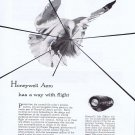 1957 Honeywell Aeronautics Original Vintage Advertisement with Inlet Diffuser Control