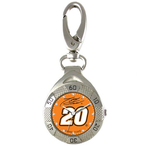GAME TIME #20 TONY STEWART  CLIP ON WATCH GRANDSTAND SERIES FREE SHIPPING LIFETIME WARRANTY