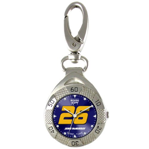 GAME TIME JAMIE MCMURRAY #26 CLIP ON WATCH GRANDSTAND SERIES FREE SHIPPING LIFETIME WARRANTY