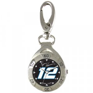 GAME TIME #12 RYAN NEWMAN CLIP ON WATCH GRANDSTAND SERIES FREE SHIPPING LIFETIME WARRANTY