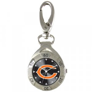 GAME TIME  CHICAGO BEARS CLIP ON WATCH GRANDSTAND SERIES FREE SHIPPING LIFETIME WARRANTY