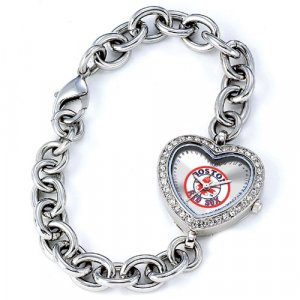 GAME TIME  BOSTON RED SOX HEART WATCH SOX LOGO  FREE SHIPPING LIFETIME WARRANTY